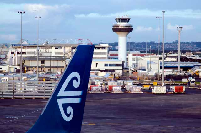 Air New Zealand is one of the main flight partners at Domestic Terminal of Auckland Airport.