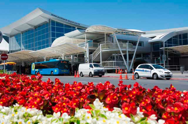 Auckland Airport is the largest and busiest airport in New Zealand.