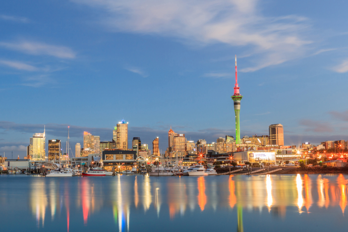 Auckland is the largest city in the North Island of New Zealand.
