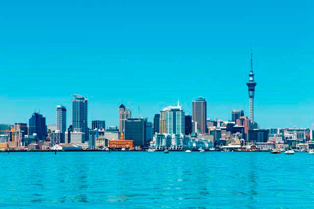 Auckland is the largest city of New Zealand and the biggest one of the North Island.
